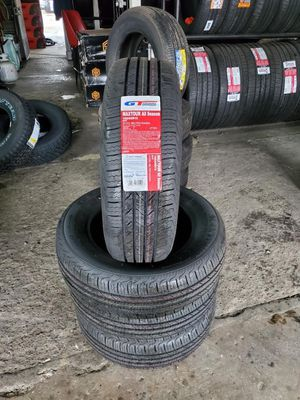 195/65/15 new tires for $280 with balance and installation we also finance {contact info removed} ask for Dorian 7637 airline dr houston TX 77037 for Sale in Houston, TX