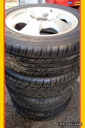 195/60R15 rims and tires 4x114 honda accord for Sale in Vancouver, WA