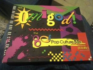 80s pop culture box for Sale in Los Angeles, CA