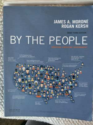 Political science text book BY THE PEOPLE for Sale in San Luis Obispo, CA