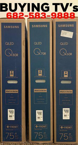 Samsung QLED LG Sony TV's Brand New In Box for Sale in Arlington, TX