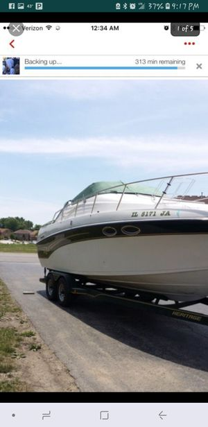 97 crownline 250cr good conditions 12 people's capacity.. for Sale in Joliet, IL