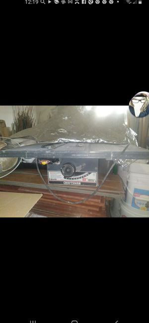 Sears Craftsman used table saw for Sale in Pasco, WA