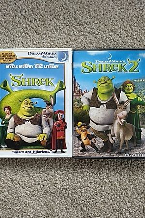 Shrek 1 and 2 DVDs for Sale in Tualatin, OR