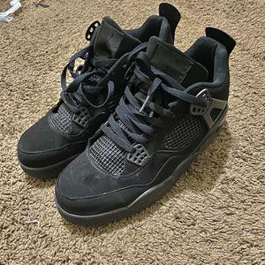 Black Cat Jordan 4s for Sale in Riverdale, GA