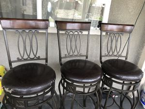 Bar stools 3 for Sale in Tracy, CA