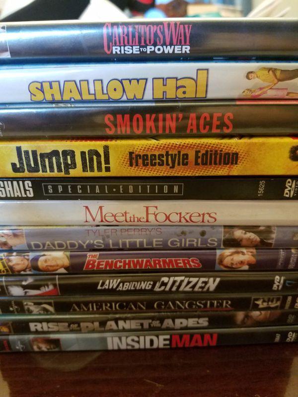 Several DVDs