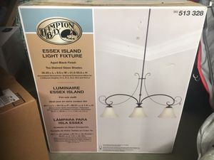 New in box Hampton bay light chandelier for Sale in Bakersfield, CA