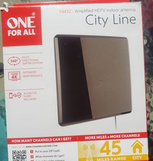 Cable TV box indoor antenna for Sale in Clarksville, TN