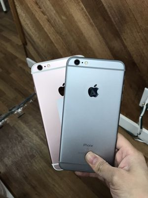 Factory unlocked Iphone 6S Plus 16GB (available: rose gold & grey color) - $250 each, firm price for Sale in Tukwila, WA