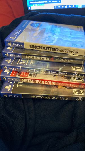 PS4 Game Bundle for Sale in Sacramento, CA