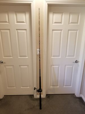 Used Daiwa Big Game Saltwater Rod and Reel Combo for Sale in Las Vegas, NV