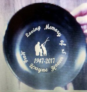 Fishing Memorial plate for Sale in Florence, MS