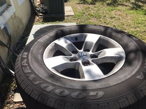 Dodge Ram Factory Alloy Rims for Sale in Hollywood, FL