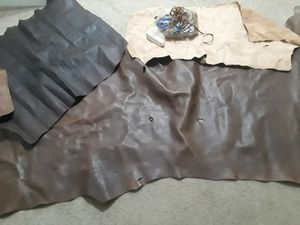 Leather and suede for Sale in Clarksville, TN