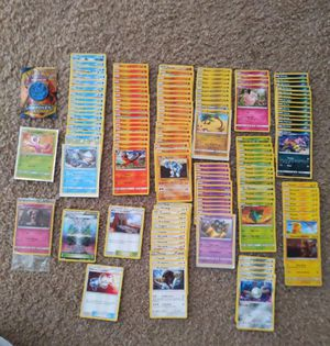 141 Pokemon cards including shiny celebi+free gifts for Sale in Hampton, VA