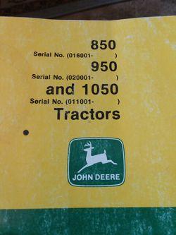 John Deer Operators Manual for Sale in Valparaiso,  IN
