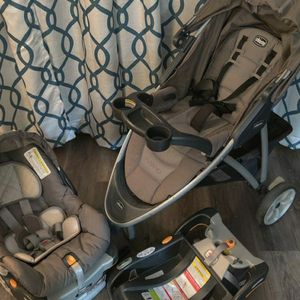 Chicco Keyfit 30 Car Seat and Stroller for Sale in Tacoma, WA