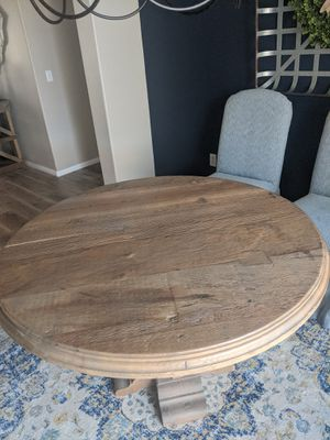 Dining table solid reclaimed wood for Sale in Fontana, CA