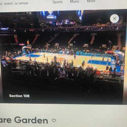 4 Knicks Tickets 3/4/2021 for Sale in Port Chester,  NY