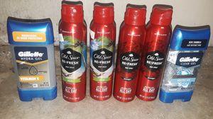 Old spice and gillette antiperspirants for Sale in Pomona, CA