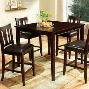 WEST CREEK II 5 PC. COUNTER HT. TABLE SET | CM3888PT-5PK for Sale in Dallas, TX