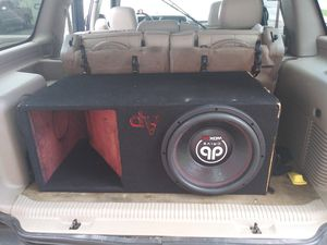 DB DRIVE 15 INCH SPEAKER AND 2000 WATT DB AMP for Sale in Columbia, SC