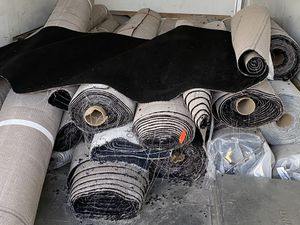 A variety of rolls of high quality carpet from $100 to $300 per roll for Sale in Alameda, CA