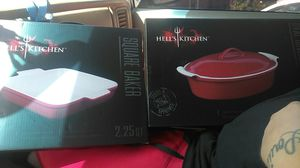 Hell's kitchen cooking dishes for Sale in St. Louis, MO