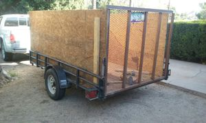 5x10 Trailer with title for Sale in Phoenix, AZ