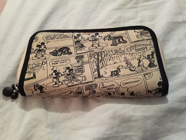 Collectible Mickey Mouse wallet