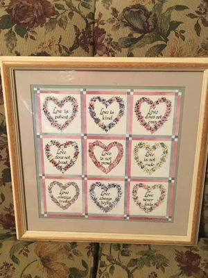 Love is....picture frame for Sale in Stevensville, PA