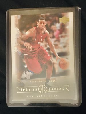 LeBron James ROOKIE CARD for Sale in Cranston, RI