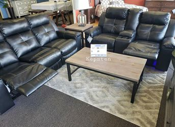 🔥Best Price Brand🆕️ Same Day Delivery Special Kempten Led Reclining Living Room Set A346👆In Stock👆 for Sale in Annandale,  VA