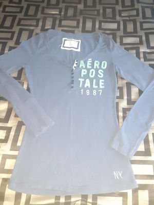 Women's blue Aeropostale long sleeve shirt for Sale in Orlando, FL