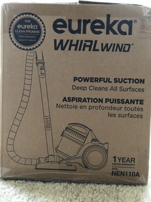 Eureka clean promise , whirlwind. for Sale in McLean, VA