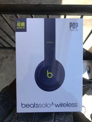 Brand New Beats solo 3 wireless headphones $100 or best offer! for Sale in Philadelphia, PA