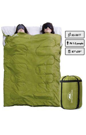 DreamGenius Double Sleeping Bag for Camping Waterproof Sleeping Bags for Adults for Sale in Goleta, CA