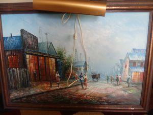 Beautiful origonal oil on canvas bye famous artist for Sale in Nashville, TN