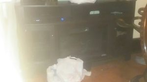 Tv stand with fireplace for Sale in Paducah, KY