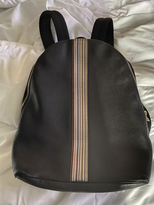 Paul smith backpack black pre-own for Sale in Quincy, MA
