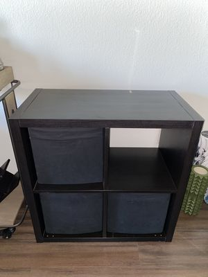 Cube shelves storage with 3 Cubbies. for Sale in San Diego, CA