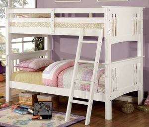 Twin/Twin bunk bed for kids! Brand New! for Sale in Modesto, CA
