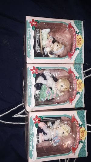 Precious moments 1995 ornaments for Sale in West Jordan, UT