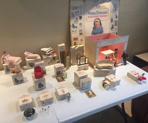 VINTAGE PETITE PRINCESS COLLECTION OF TOYS for Sale in FL, US