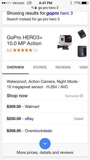 GoPro 3 for Sale in Salt Lake City, UT