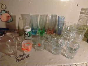 Collection of shot glasses for Sale in Redford Charter Township, MI