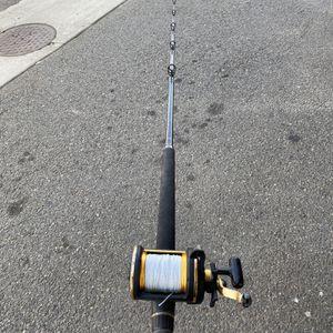 Daiwa Sealine 50 Reel On Shimano Triton Fishing Rod Combo for Sale in Seattle, WA