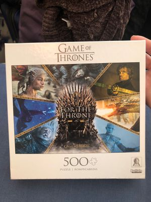 Game of Thrones 500 piece Puzzle for Sale in Fair Oaks, CA