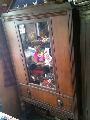 Antique China Cabinet with drawer for Sale in Bethel Park, PA